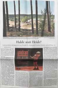 PNN Artikel - Halde statt Heide?