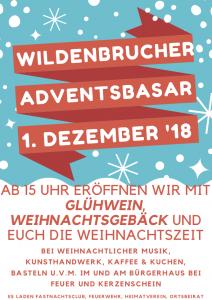 Stand auf dem Wildenbrucher Adventsbasar am Bürgerhaus @ Bürgerhaus Wildenbruch | Potsdam | Brandenburg | Deutschland